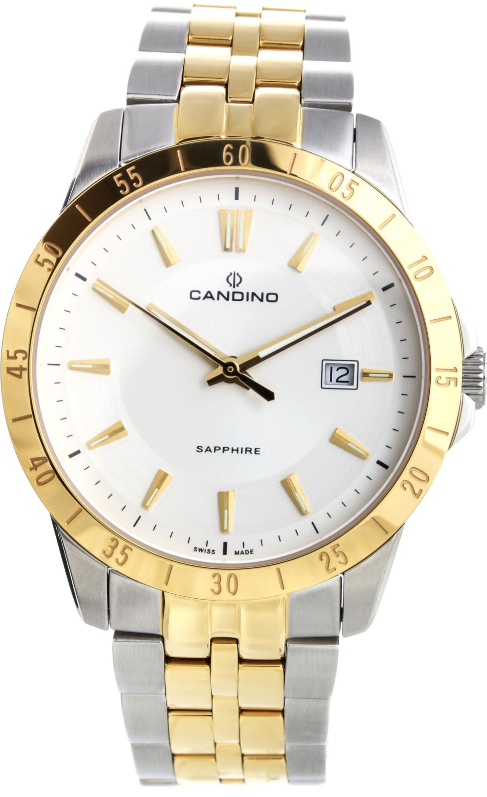 Candino Street rider C4514/1Наручные часы<br>Швейцарские часы Candino Street rider C4514/1<br><br>Пол: Мужские<br>Страна-производитель: Швейцария<br>Механизм: Кварцевый<br>Материал корпуса: Сталь<br>Материал ремня/браслета: Сталь<br>Водозащита, диапазон: 20 - 100 м<br>Стекло: Сапфировое<br>Толщина корпуса: None<br>Стиль: Классика