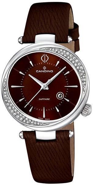 Candino Classic C4532/2Наручные часы<br>Швейцарские часы Candino Classic C4532/2<br><br>Пол: Женские<br>Страна-производитель: Швейцария<br>Механизм: Кварцевый<br>Материал корпуса: Сталь<br>Материал ремня/браслета: Кожа<br>Водозащита, диапазон: None<br>Стекло: Сапфировое<br>Толщина корпуса: None<br>Стиль: None