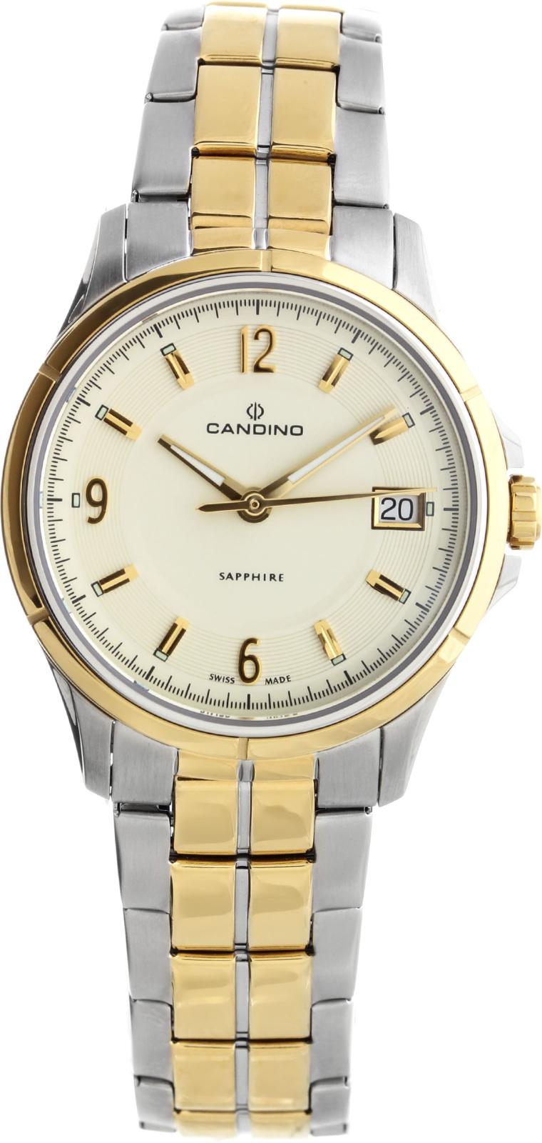 Candino Elegance C4534/2Наручные часы<br>Швейцарские часы Candino Elegance C4534/2<br><br>Пол: Женские<br>Страна-производитель: Швейцария<br>Механизм: Кварцевый<br>Материал корпуса: Сталь<br>Материал ремня/браслета: Сталь<br>Водозащита, диапазон: 20 - 100 м<br>Стекло: Сапфировое<br>Толщина корпуса: 8 мм<br>Стиль: Классика