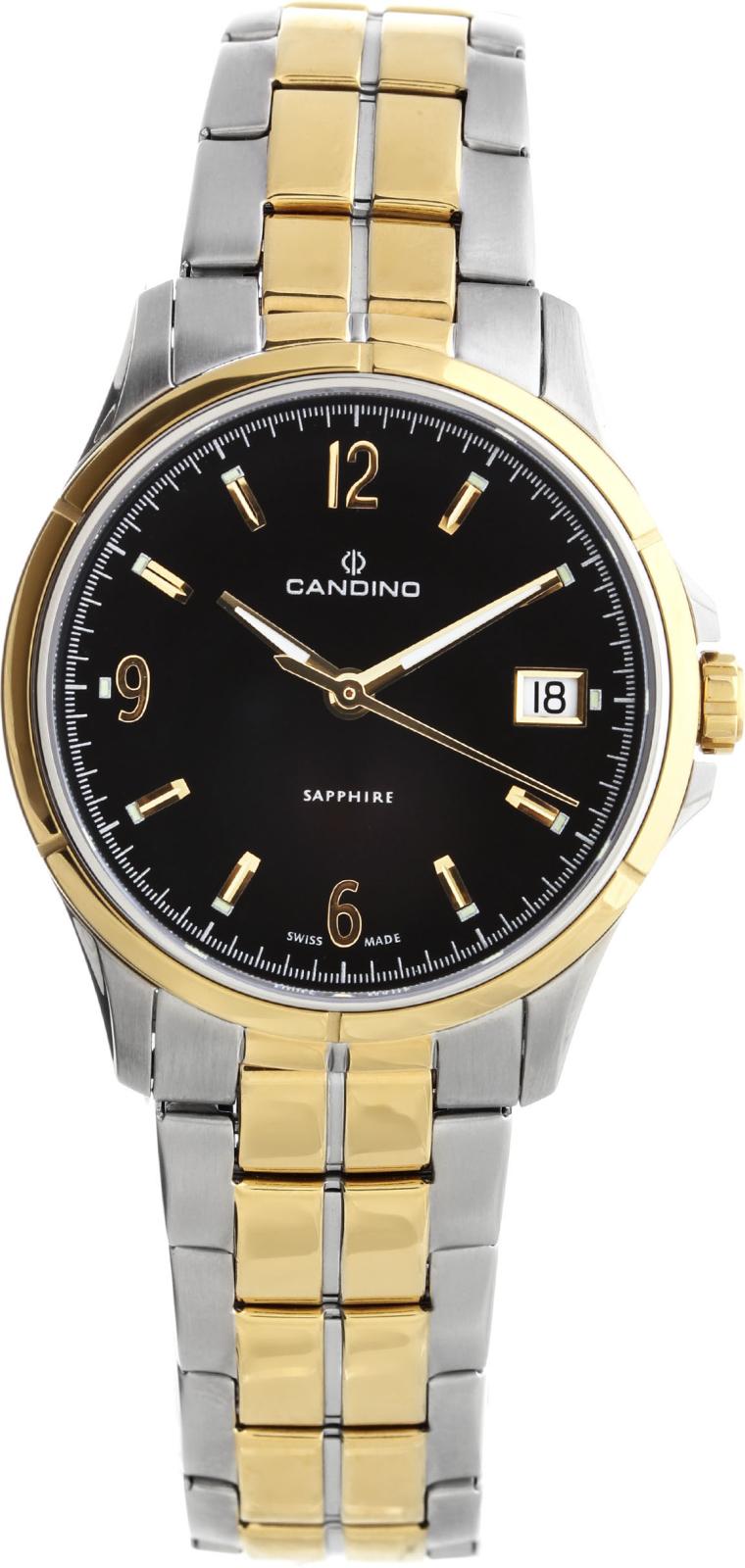 Candino Elegance C4534/3Наручные часы<br>Швейцарские часы Candino Elegance C4534/3<br><br>Пол: Женские<br>Страна-производитель: Швейцария<br>Механизм: Кварцевый<br>Материал корпуса: Сталь<br>Материал ремня/браслета: Сталь<br>Водозащита, диапазон: 20 - 100 м<br>Стекло: Сапфировое<br>Толщина корпуса: 8 мм<br>Стиль: Классика