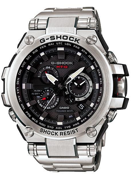 Casio G-shock MTG-S1000D-1AНаручные часы<br>Японские часы Casio G-shock MTG-S1000D-1AЧасы входят в модельный ряд коллекции G-shock. Это мужские часы. Материал корпуса часов — сталь. В этих часах используется сапфировое стекло. Водозащита - 200 м. Основной цвет циферблата черный. Циферблат содержит  часы, минуты, секунды. В этой модели используются такие усложнения как дата, второе поясное время, хронограф. Диаметр корпуса данной модели 54мм. <br><br>Для кого?: Мужские<br>Страна-производитель/: <br>Механизм: Кварцевый<br>Материал корпуса: Сталь<br>Материал ремня/браслета: Сталь<br>Водозащита, диапазон/: <br>Стекло: Сапфировое<br>Толщина корпуса: 16<br>Стиль: Спорт