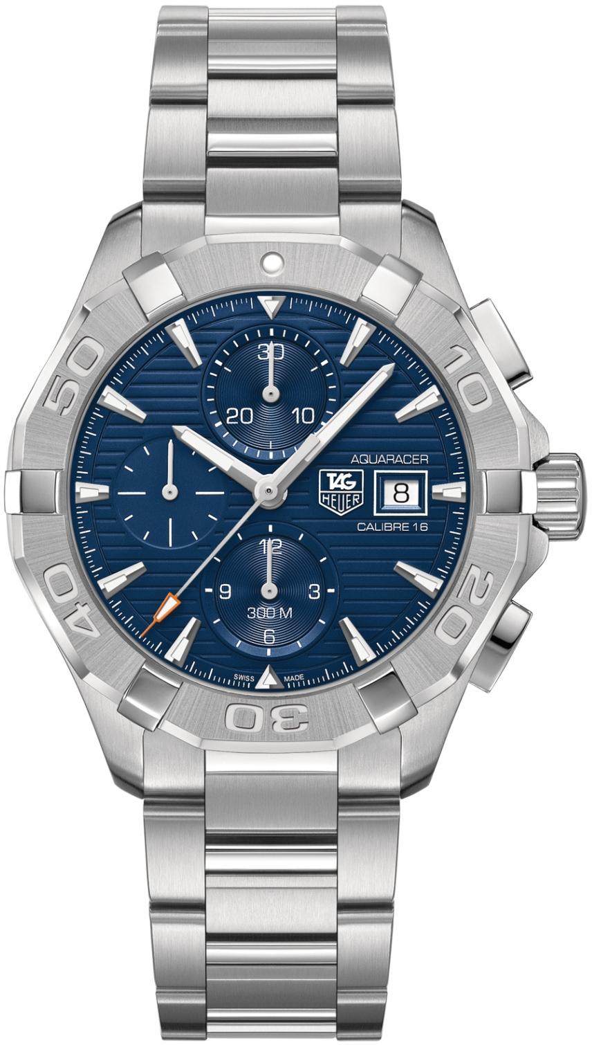 Tag Heuer Aquaracer CAY2112.BA0925  Наручные часы<br>Швейцарские часы Tag Heuer Aquaracer CAY2112.BA0925<br><br>Для кого?: Мужские<br>Страна-производитель: Швейцария<br>Механизм: Механический<br>Материал корпуса: Сталь<br>Материал ремня/браслета: Сталь<br>Водозащита, диапазон: 200 - 800 м<br>Стекло: Сапфировое<br>Толщина корпуса/: <br>Стиль: Спорт