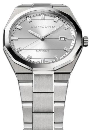 Concord Mariner 320259Наручные часы<br>Швейцарские часы Concord Mariner 320259<br><br>Для кого?: Мужские<br>Страна-производитель: Швейцария<br>Механизм: Кварцевый<br>Материал корпуса: Сталь<br>Материал ремня/браслета: Сталь<br>Водозащита, диапазон: 20 - 100 м<br>Стекло: Сапфировое<br>Толщина корпуса: 8.15 мм<br>Стиль: Классика