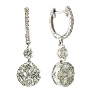 Серьги NeoGold Diamond Collection D 10EWD