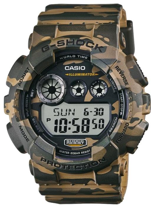 Casio G-shock GD-120CM-5EНаручные часы<br>Японские часы Casio G-shock GD-120CM-5E<br><br>Пол: Мужские<br>Страна-производитель: Япония<br>Механизм: Кварцевый<br>Материал корпуса: Пластик<br>Материал ремня/браслета: Каучук<br>Водозащита, диапазон: None<br>Стекло: Минеральное<br>Толщина корпуса: 20,4 мм<br>Стиль: None