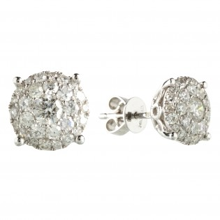 Серьги NeoGold Diamond Collection D 22EWD