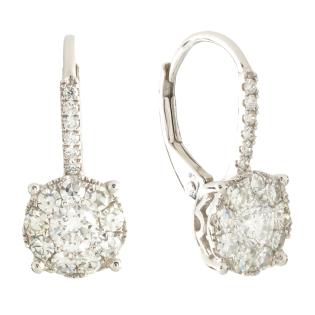 Серьги NeoGold Diamond Collection D 26EWD