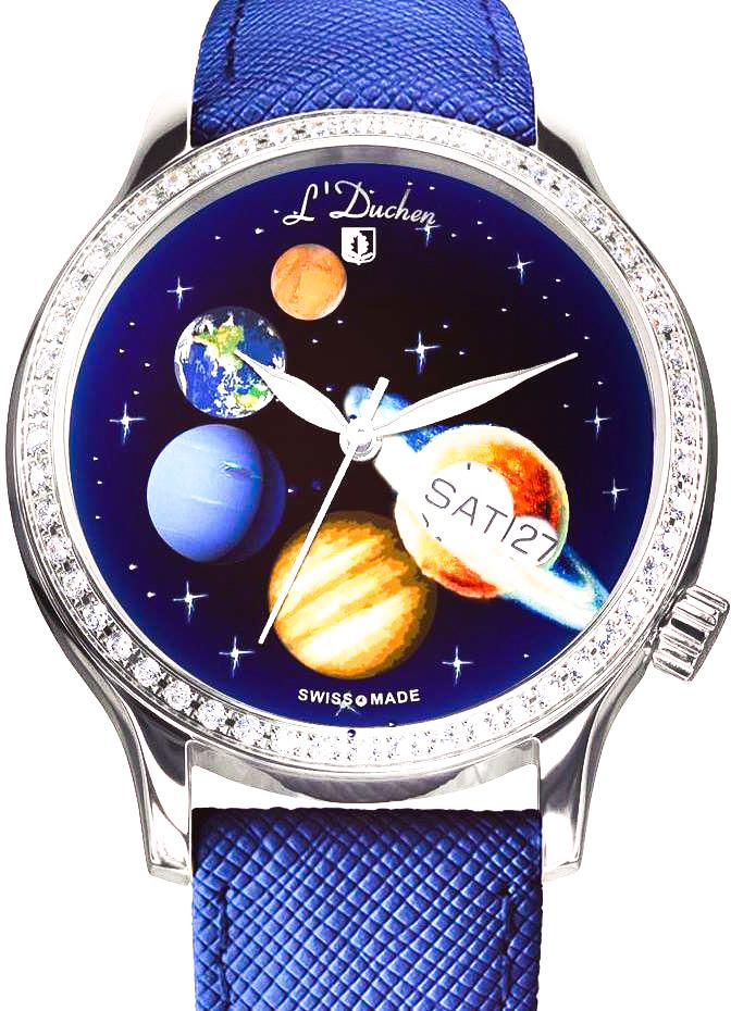 Купить Швейцарские часы L'DuchenD 713.16.33.AC - Парад Планет, L'Duchen D 713.16.33.AC - Парад Планет, L`Duchen