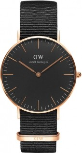Daniel Wellington Classic Black Cornwall DW00100150