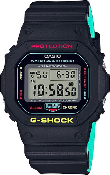Купить Casio G-Shock DW-5600CMB-1E, Мужские, Япония