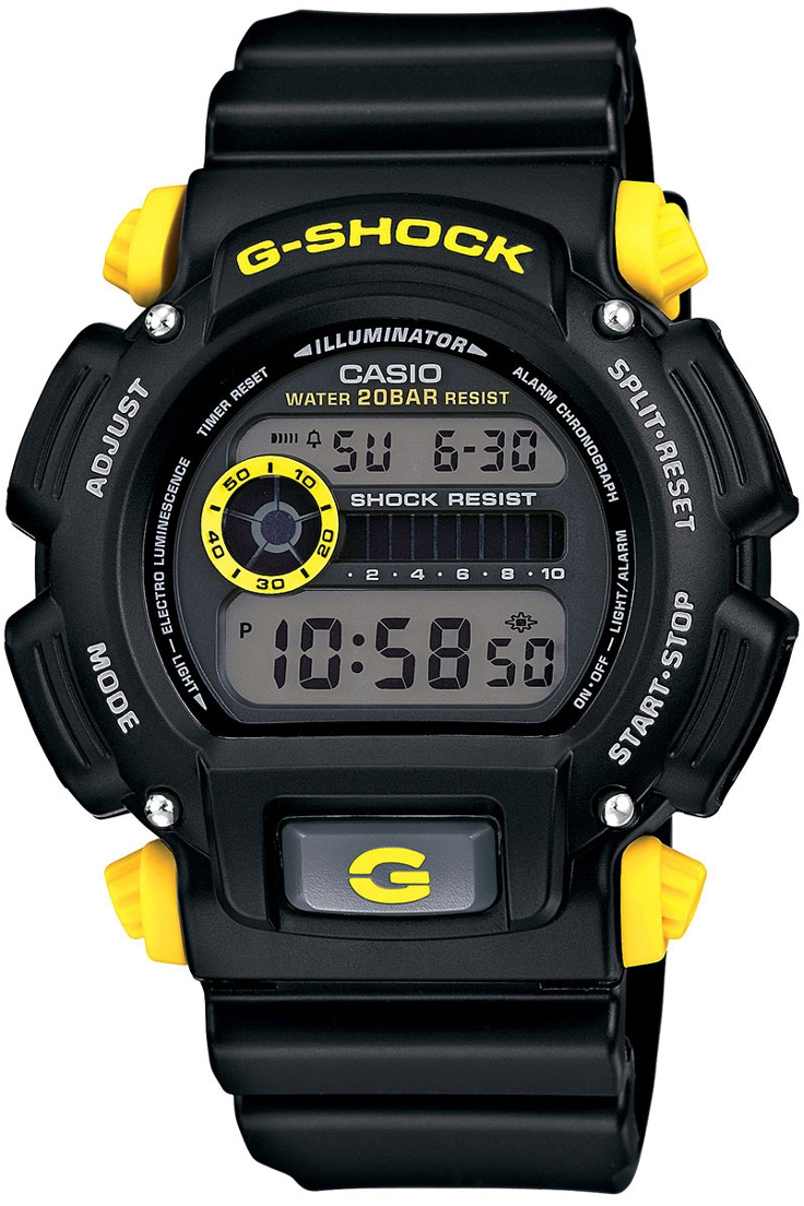 Casio G-Shock Standart Digital DW-9052-1C9Наручные часы<br>Японские часы Casio G-Shock Standart Digital DW-9052-1C9<br><br>Пол: Мужские<br>Страна-производитель: Япония<br>Механизм: Кварцевый<br>Материал корпуса: Пластик<br>Материал ремня/браслета: Пластик<br>Водозащита, диапазон: None<br>Стекло: Минеральное<br>Толщина корпуса: 14,7 мм<br>Стиль: None