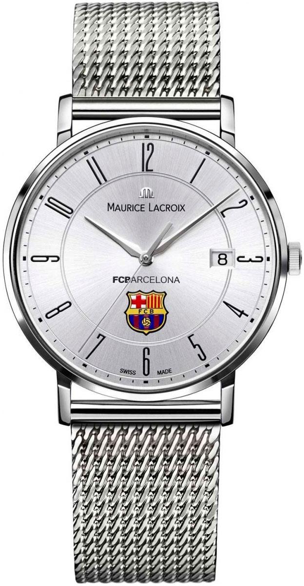 Maurice Lacroix Eliros Date EL1087-SS002-120-1Наручные часы<br>Швейцарские часы Maurice Lacroix Eliros Date EL1087-SS002-120-1<br><br>Пол: Мужские<br>Страна-производитель: Швейцария<br>Механизм: Кварцевый<br>Материал корпуса: Сталь<br>Материал ремня/браслета: Сталь<br>Водозащита, диапазон: 20 - 100 м<br>Стекло: Сапфировое<br>Толщина корпуса: None<br>Стиль: Классика