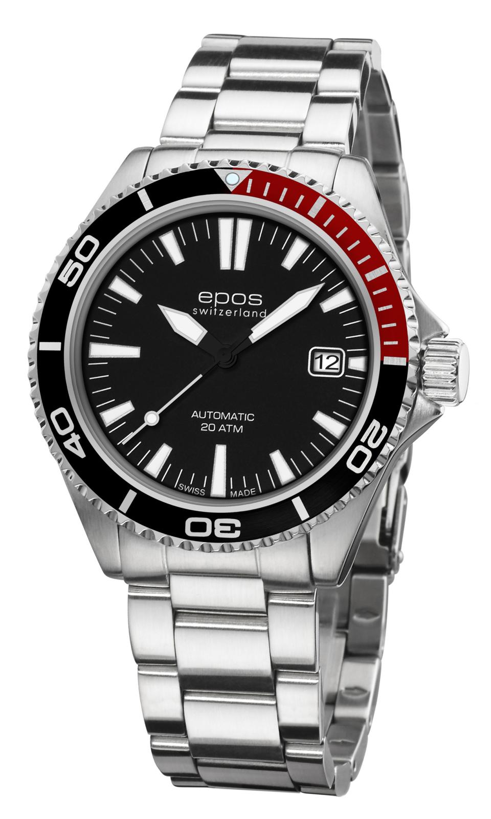 Epos Sophistiquee 3413.131.91.15.30Наручные часы<br>Швейцарские часы Epos Sophistiquee 3413.131.91.15.30Представленная модель входит в коллекцию Sophistiquee. Это модные мужские часы. Материал корпуса часов — сталь. В этой модели стоит сапфировое стекло. Водозащита этих часов 200 м. Циферблат модели содержит часы, секунды. В этой модели используются такие усложнения как дата, . Размер данной модели 41мм.<br><br>Для кого?: Мужские<br>Страна-производитель: Швейцария<br>Механизм: Механический<br>Материал корпуса: Сталь<br>Материал ремня/браслета: Сталь<br>Водозащита, диапазон: 200 - 800 м<br>Стекло: Сапфировое<br>Толщина корпуса: 11 мм<br>Стиль: Спорт