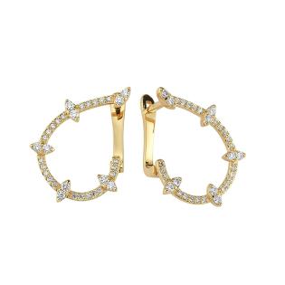 Серьги MOSTAR jewellery EUA14197-14-R