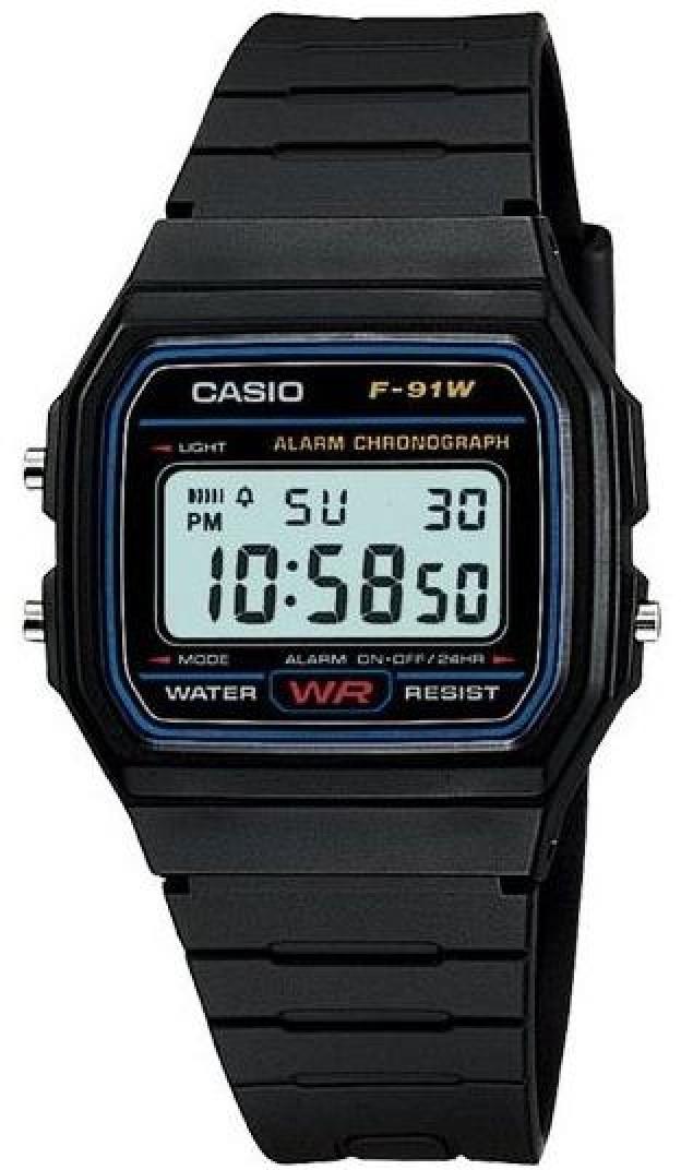Купить Японские часы Casio F-91W-1Q