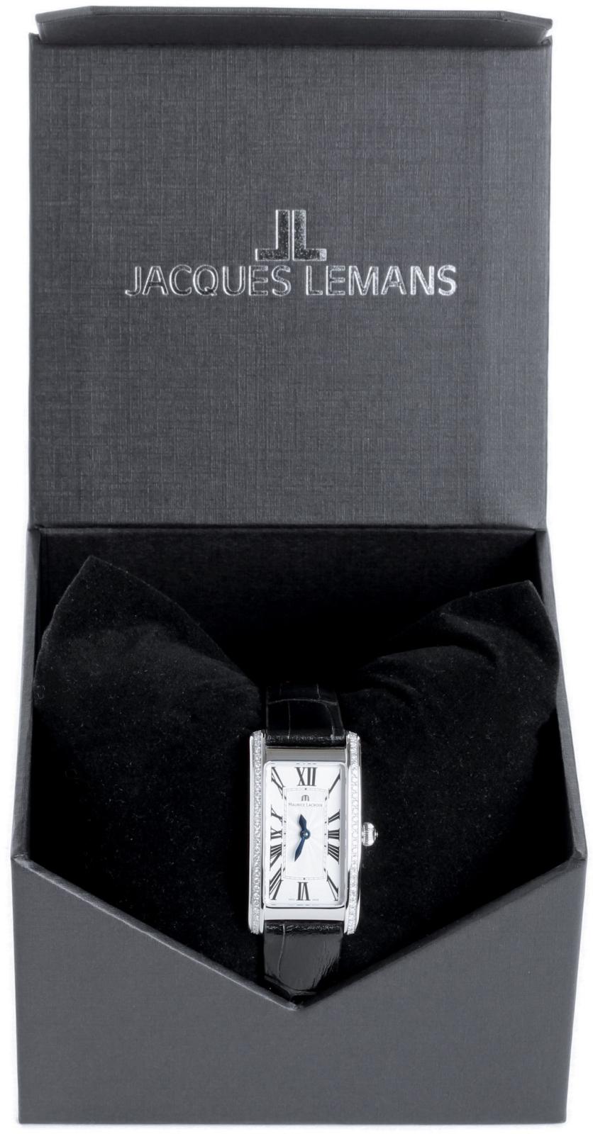 Maurice Lacroix Fiaba FA2164-SD531-118Наручные часы<br>Швейцарские часы Maurice Lacroix Fiaba FA2164-SD531-118<br><br>Пол: Женские<br>Страна-производитель: Швейцария<br>Механизм: Кварцевый<br>Материал корпуса: Сталь<br>Материал ремня/браслета: Кожа<br>Водозащита, диапазон: 20 - 100 м<br>Стекло: Сапфировое<br>Толщина корпуса: None<br>Стиль: Классика