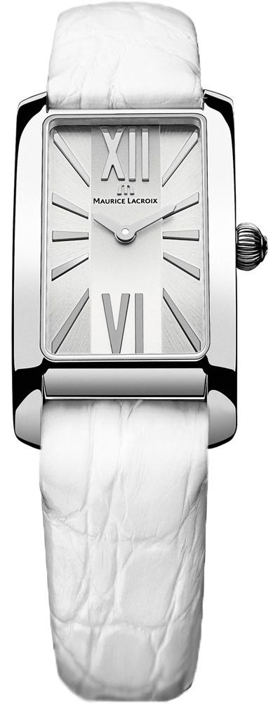 Maurice Lacroix Fiaba FA2164-SS001-113Наручные часы<br>Швейцарские часы Maurice Lacroix Fiaba FA2164-SS001-113Данная модель входит в коллекцию Fiaba. Это настоящие Женские часы. Материал корпуса часов — Сталь. Ремень — Кожа. В этой модели стоит Сапфировое стекло. Часы этой модели обладают водозащитой 50 м.<br><br>Для кого?: Женские<br>Страна-производитель: Швейцария<br>Механизм: Кварцевый<br>Материал корпуса: Сталь<br>Материал ремня/браслета: Кожа<br>Водозащита, диапазон: 20 - 100 м<br>Стекло: Сапфировое<br>Толщина корпуса: None<br>Стиль: None