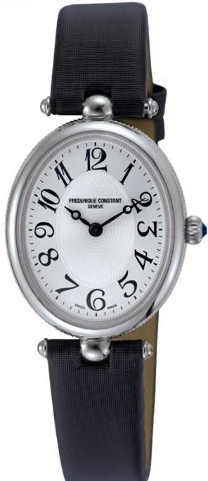 Frederique Constant Art Deco FC-200A2V6Наручные часы<br>Швейцарские часы Frederique Constant Art Deco FC-200A2V6<br><br>Пол: Женские<br>Страна-производитель: Швейцария<br>Механизм: Кварцевый<br>Материал корпуса: Сталь<br>Материал ремня/браслета: Кожа+текстиль<br>Водозащита, диапазон: 20 - 100 м<br>Стекло: Сапфировое<br>Толщина корпуса: None<br>Стиль: Классика