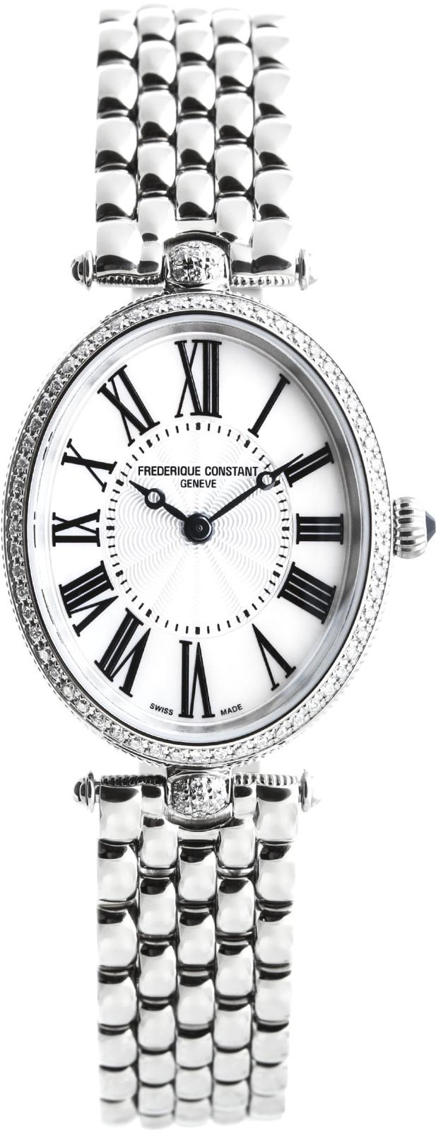 Frederique Constant Art Deco FC-200MPW2VD6BНаручные часы<br>Швейцарские часы Frederique Constant Art Deco FC-200MPW2VD6B<br><br>Пол: Женские<br>Страна-производитель: Швейцария<br>Механизм: Кварцевый<br>Материал корпуса: Сталь<br>Материал ремня/браслета: Сталь<br>Водозащита, диапазон: 20 - 100 м<br>Стекло: Сапфировое<br>Толщина корпуса: 7 мм<br>Стиль: Классика