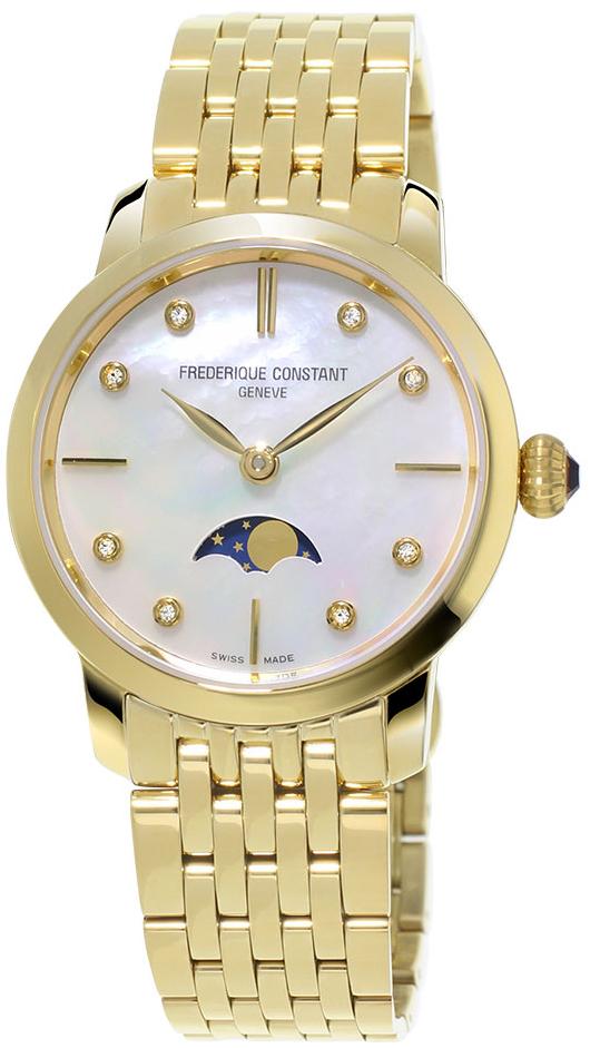 Frederique Constant Slim Line Moonphase FC-206MPWD1S5B от Frederique Constant