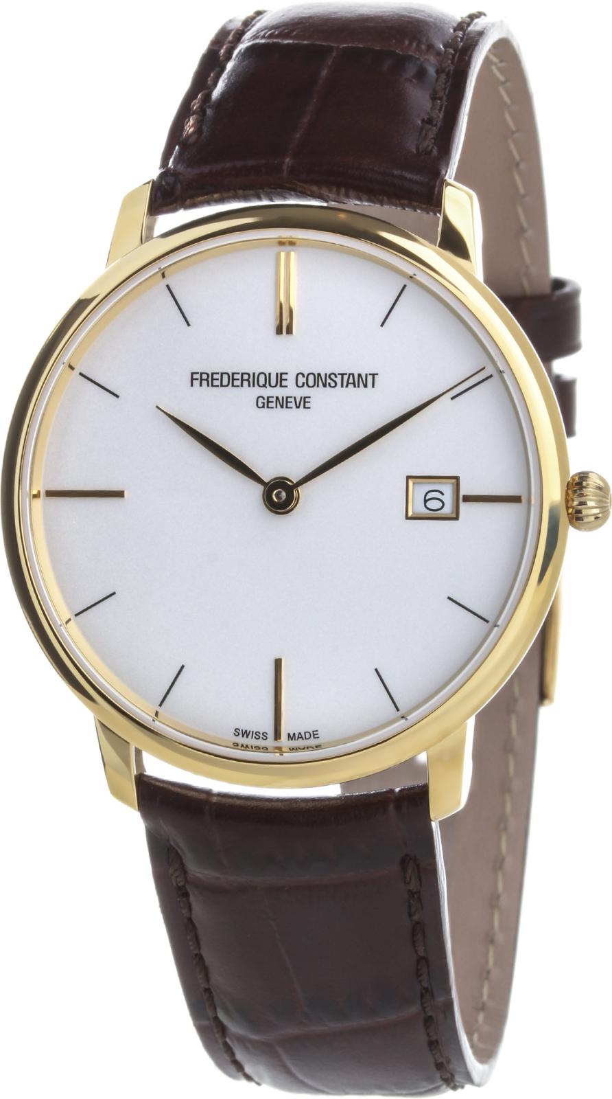 Купить Швейцарские часы Frederique Constant Slim Line FC-220V5S5