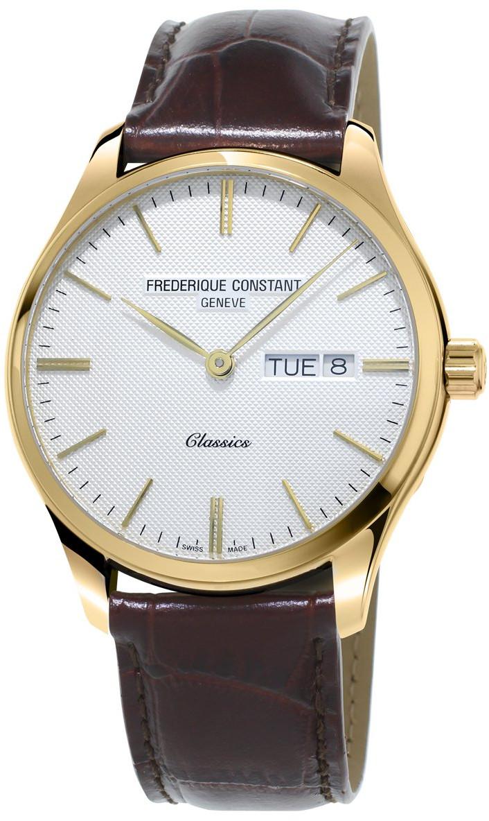 Frederique Constant Classics FC-225ST5B5Наручные часы<br>Швейцарские часы Frederique Constant Classics FC-225ST5B5<br><br>Пол: Мужские<br>Страна-производитель: Швейцария<br>Механизм: Кварцевый<br>Материал корпуса: Сталь<br>Материал ремня/браслета: Кожа<br>Водозащита, диапазон: None<br>Стекло: Сапфировое<br>Толщина корпуса: None<br>Стиль: None