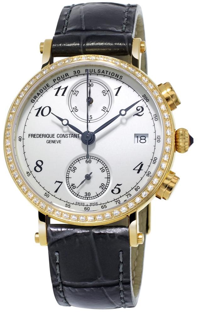 Frederique Constant Classics FC-291A2RD5Наручные часы<br>Швейцарские часы Frederique Constant Classics FC-291A2RD5<br><br>Пол: Женские<br>Страна-производитель: Швейцария<br>Механизм: Кварцевый<br>Материал корпуса: Сталь<br>Материал ремня/браслета: Кожа<br>Водозащита, диапазон: 20 - 100 м<br>Стекло: Сапфировое<br>Толщина корпуса: 10 мм<br>Стиль: Классика