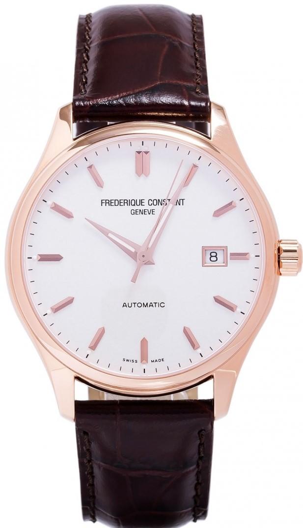 Frederique Constant Classics Index  FC-303V5B4Наручные часы<br>Швейцарские часы Frederique Constant Classics Index FC-303V5B4Представленная модель входит в коллекцию Classics Index . Это настоящие мужские часы. Материал корпуса часов — сталь+золото. В этой модели стоит сапфировое стекло. Часы выдерживают давление на глубине 50 м. Цвет циферблата - белый. Из основных функций на циферблате представлены: часы, минуты, секунды. В данной модели используются следующие усложнения: дата, . Диаметр корпуса часов составляет 40мм.<br><br>Пол: Мужские<br>Страна-производитель: Швейцария<br>Механизм: Механический<br>Материал корпуса: Сталь+Золото<br>Материал ремня/браслета: Кожа<br>Водозащита, диапазон: 20 - 100 м<br>Стекло: Сапфировое<br>Толщина корпуса: None<br>Стиль: Классика