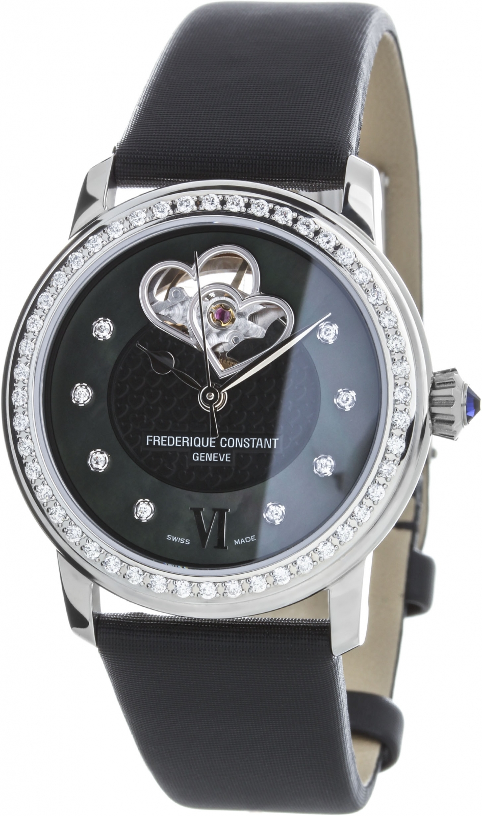 Купить Швейцарские часы Frederique Constant Ladies Automatic FC-310BDHB2PD6, Frederique Constant World Heart Federation FC-310BDHB2PD6