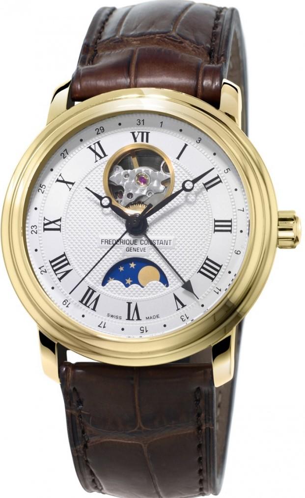 Frederique Constant Classics FC-335MC4P5Наручные часы<br>Швейцарские часы Frederique Constant Classics FC-335MC4P5<br><br>Пол: Мужские<br>Страна-производитель: Швейцария<br>Механизм: Механический<br>Материал корпуса: Сталь<br>Материал ремня/браслета: Кожа<br>Водозащита, диапазон: 20 - 100 м<br>Стекло: Сапфировое<br>Толщина корпуса: 10 мм<br>Стиль: Классика
