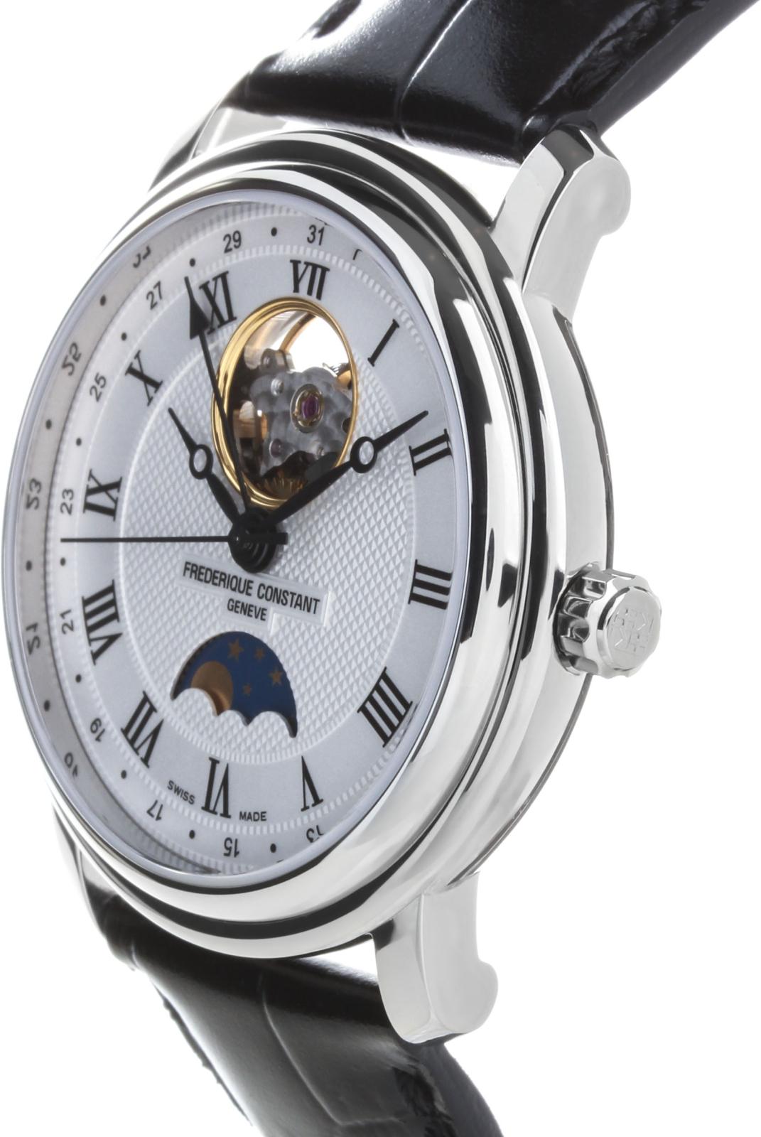 Frederique Constant Classics FC-335MC4P6B2Наручные часы<br>Швейцарские часы Frederique Constant Classics FC-335MC4P6B2<br><br>Пол: Мужские<br>Страна-производитель: Швейцария<br>Механизм: Механический<br>Материал корпуса: Сталь<br>Материал ремня/браслета: Сталь<br>Водозащита, диапазон: 20 - 100 м<br>Стекло: Сапфировое<br>Толщина корпуса: 10 мм<br>Стиль: Классика