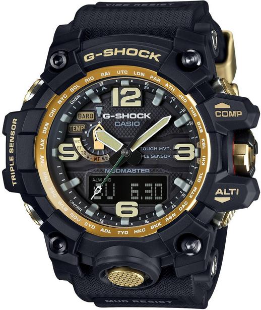 Casio G-shock Mudmaster GWG-1000GB-1AНаручные часы<br>Японские часы Casio G-shock Mudmaster GWG-1000GB-1A<br><br>Пол: Мужские<br>Страна-производитель: Япония<br>Механизм: Кварцевый<br>Материал корпуса: Сталь+пластик<br>Материал ремня/браслета: Каучук<br>Водозащита, диапазон: None<br>Стекло: Сапфировое<br>Толщина корпуса: 18 мм<br>Стиль: None