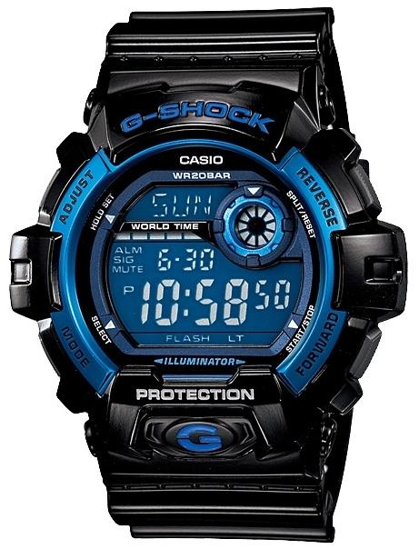 Casio G-Shock Standart Digital G-8900A-1EНаручные часы<br>Японские часы Casio G-Shock Standart Digital<br><br>Пол: Мужские<br>Страна-производитель: Япония<br>Механизм: Кварцевый<br>Материал корпуса: Алюминий+пластик<br>Материал ремня/браслета: Пластик<br>Водозащита, диапазон: None<br>Стекло: Минеральное<br>Толщина корпуса: 16,3 мм<br>Стиль: None