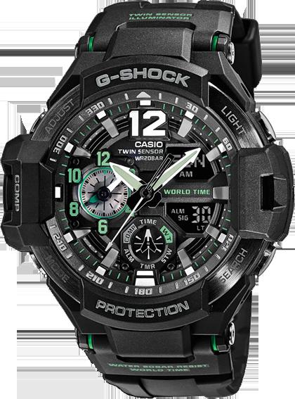 Купить Японские часыCasio G-ShockGA-1100-1A3, Casio G-Shock GA-1100-1A3