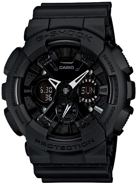 Casio G-shock G-Classic GA-120BB-1AНаручные часы<br>Японские часы Casio G-shock G-Classic GA-120BB-1A<br><br>Пол: Мужские<br>Страна-производитель: Япония<br>Механизм: Кварцевый<br>Материал корпуса: Пластик<br>Материал ремня/браслета: Каучук<br>Водозащита, диапазон: None<br>Стекло: Минеральное<br>Толщина корпуса: 16,9 мм<br>Стиль: None
