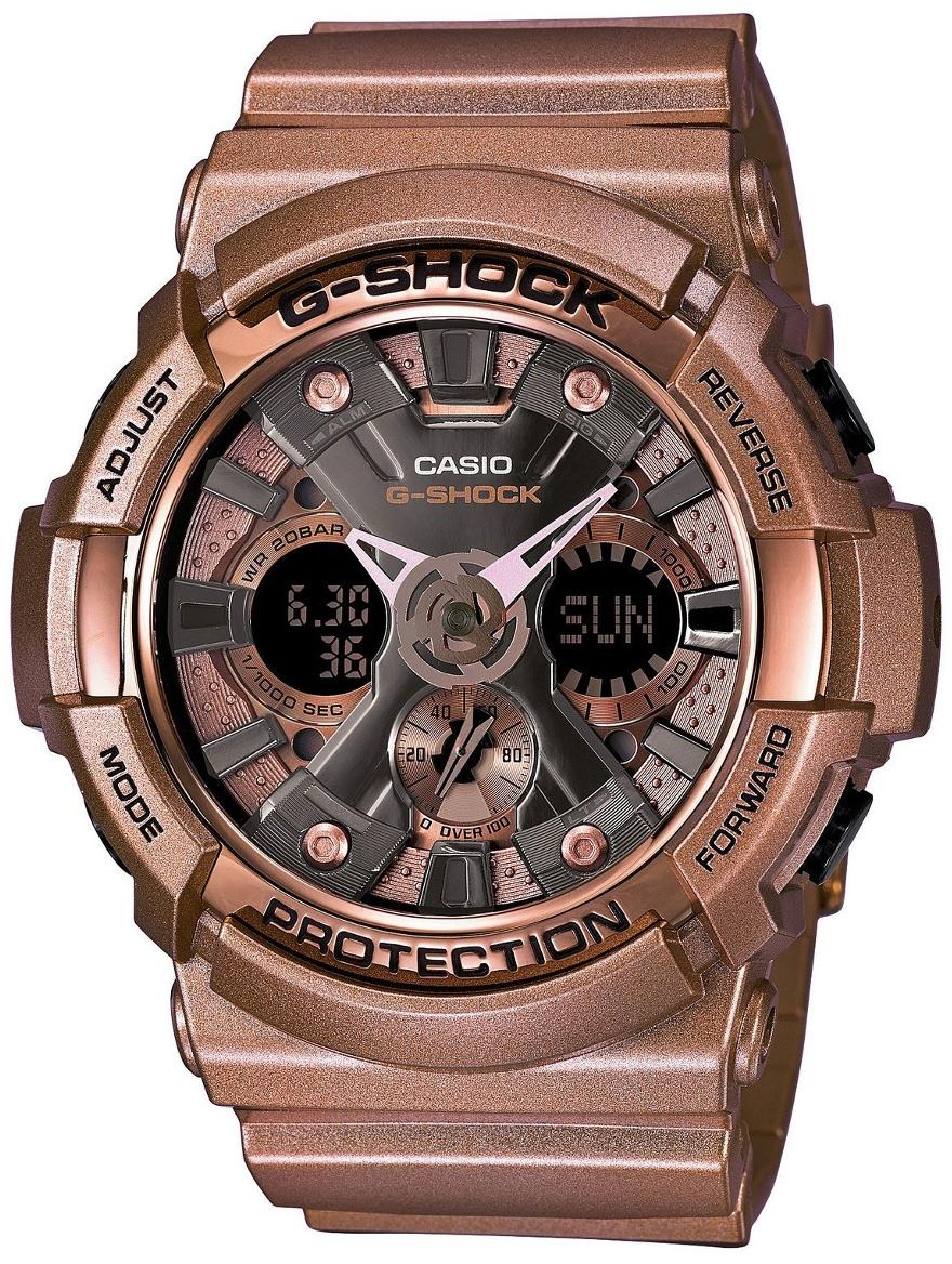 Casio G-shock G-Specials Crazy Gold GA-200GD-9BНаручные часы<br>Японские часы Casio G-shock G-Specials Crazy Gold GA-200GD-9B<br><br>Пол: Мужские<br>Страна-производитель: Япония<br>Механизм: Кварцевый<br>Материал корпуса: Пластик<br>Материал ремня/браслета: Каучук<br>Водозащита, диапазон: None<br>Стекло: Минеральное<br>Толщина корпуса: 16,7 мм<br>Стиль: None