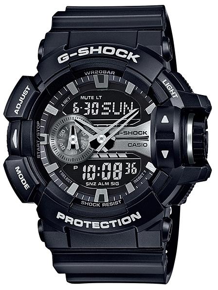 Casio G-shock G-Specials GA-400GB-1AНаручные часы<br>Японские часы Casio G-shock G-Specials GA-400GB-1A<br><br>Пол: Мужские<br>Страна-производитель: Япония<br>Механизм: Кварцевый<br>Материал корпуса: Пластик<br>Материал ремня/браслета: Каучук<br>Водозащита, диапазон: None<br>Стекло: Минеральное<br>Толщина корпуса: 18,3 мм<br>Стиль: None