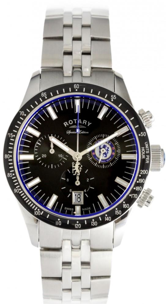 Rotary Revelation GB90048/04Наручные часы<br>Швейцарские часы Rotary Revelation GB90048/04<br><br>Пол: Мужские<br>Страна-производитель: Швейцария<br>Механизм: Кварцевый<br>Материал корпуса: Сталь<br>Материал ремня/браслета: Сталь<br>Водозащита, диапазон: 20 - 100 м<br>Стекло: Сапфировое<br>Толщина корпуса: 9 мм<br>Стиль: Спорт