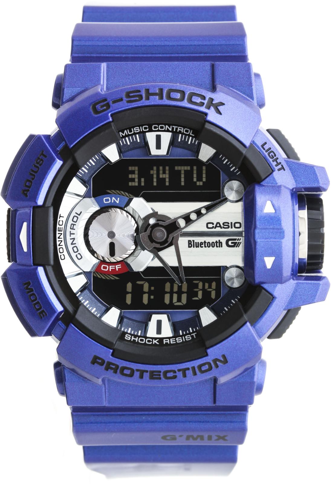 Casio G-shock G-Bluetooth GBA-400-2AНаручные часы<br>Японские часы Casio G-shock G-Bluetooth GBA-400-2A<br><br>Пол: Мужские<br>Страна-производитель: Япония<br>Механизм: Кварцевый<br>Материал корпуса: Пластик<br>Материал ремня/браслета: Каучук<br>Водозащита, диапазон: 200 - 800 м<br>Стекло: Минеральное<br>Толщина корпуса: None<br>Стиль: Спорт