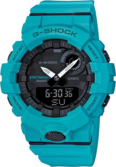 Купить Casio G-Shock GBA-800-2A2, Мужские, Япония