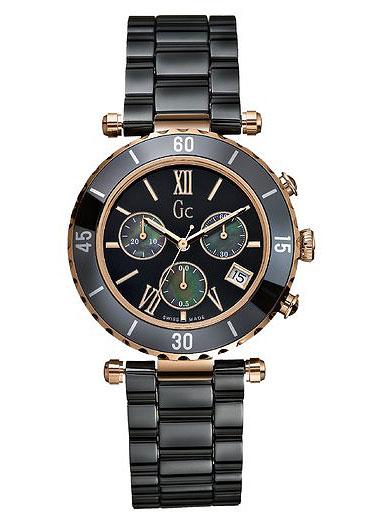 Gc Sport Chic I47504M2SНаручные часы<br>Швейцарские часы Gc Sport Chic I47504M2SЧасы входят в модельный ряд коллекции Sport Chic. Это модные женские часы. Материал корпуса часов — сталь+золото. Стекло - сапфировое. Часы этой модели обладают водозащитой 100 м.<br><br>Для кого?: Женские<br>Страна-производитель: Швейцария<br>Механизм: Кварцевый<br>Материал корпуса: Сталь+Золото<br>Материал ремня/браслета: Керамика<br>Водозащита, диапазон: 100 - 150 м<br>Стекло: Сапфировое<br>Толщина корпуса/: <br>Стиль/: