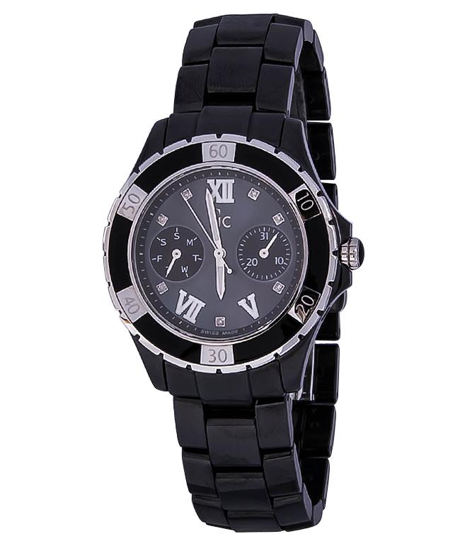 Gc Precious X69106L2SНаручные часы<br>Швейцарские часы Gc Precious X69106L2SПредставленная модель входит в коллекцию Precious. Это настоящие женские часы. Материал корпуса часов — сталь. Стекло - сапфировое. Водозащита - 100 м. Основной цвет циферблата черный. Размер данной модели 36мм. Блеск модели придаёт наличие бриллиантов.<br><br>Для кого?: Женские<br>Страна-производитель: Швейцария<br>Механизм: Кварцевый<br>Материал корпуса: Сталь<br>Материал ремня/браслета: Керамика<br>Водозащита, диапазон: 100 - 150 м<br>Стекло: Сапфировое<br>Толщина корпуса/: <br>Стиль: Мода