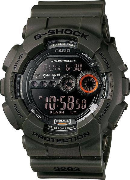 Купить Японские часы Casio G-shock GD-100MS-3E