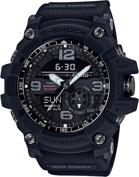 Купить Японские часы Casio G-shock Mudmaster Big Bang Black GG-1035A-1A