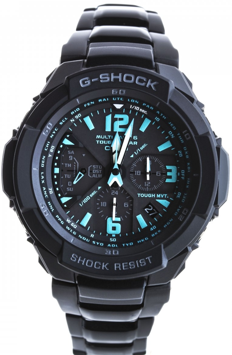 Casio G-shock G-Premium  GW-3000BD-1AНаручные часы<br>Японские часы Casio G-shock G-Premium  GW-3000BD-1A<br><br>Пол: Мужские<br>Страна-производитель: Япония<br>Механизм: Кварцевый<br>Материал корпуса: Сталь<br>Материал ремня/браслета: Сталь<br>Водозащита, диапазон: 200 - 800 м<br>Стекло: Минеральное<br>Толщина корпуса: None<br>Стиль: Спорт