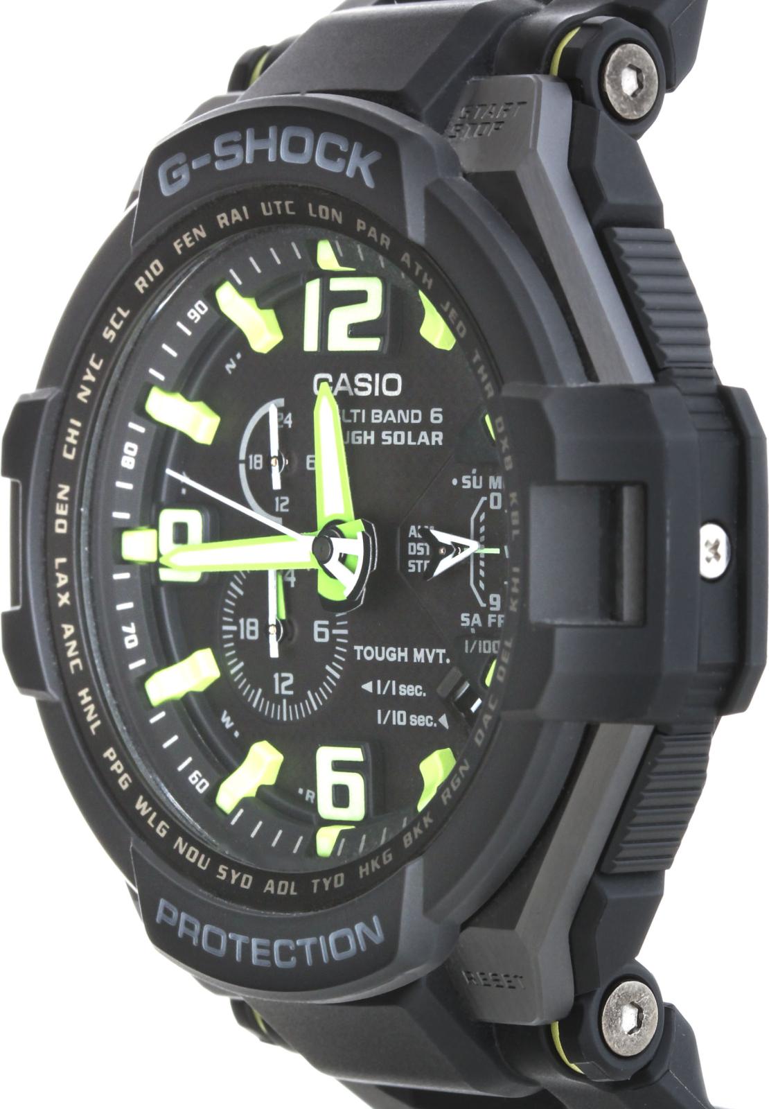 Casio G-shock GW-4000-1A3Наручные часы<br>Японские часы Casio G-shock GW-4000-1A3Модель входит в коллекцию G-shock. Это мужские часы. Материал корпуса часов — сталь+пластик. В этих часах используется минеральное стекло. Часы этой модели обладают водозащитой 200 м. Основной цвет циферблата черный. Из основных функций на циферблате представлены: часы, минуты, секунды. В этих часах используются такие усложнения как дата, день недели, сложный календарь, второе поясное время, будильник, . Диаметр корпуса 50х53мм.<br><br>Пол: Мужские<br>Страна-производитель: None<br>Механизм: Кварцевый<br>Материал корпуса: Сталь+пластик<br>Материал ремня/браслета: Каучук<br>Водозащита, диапазон: None<br>Стекло: Минеральное<br>Толщина корпуса: 16<br>Стиль: Классика