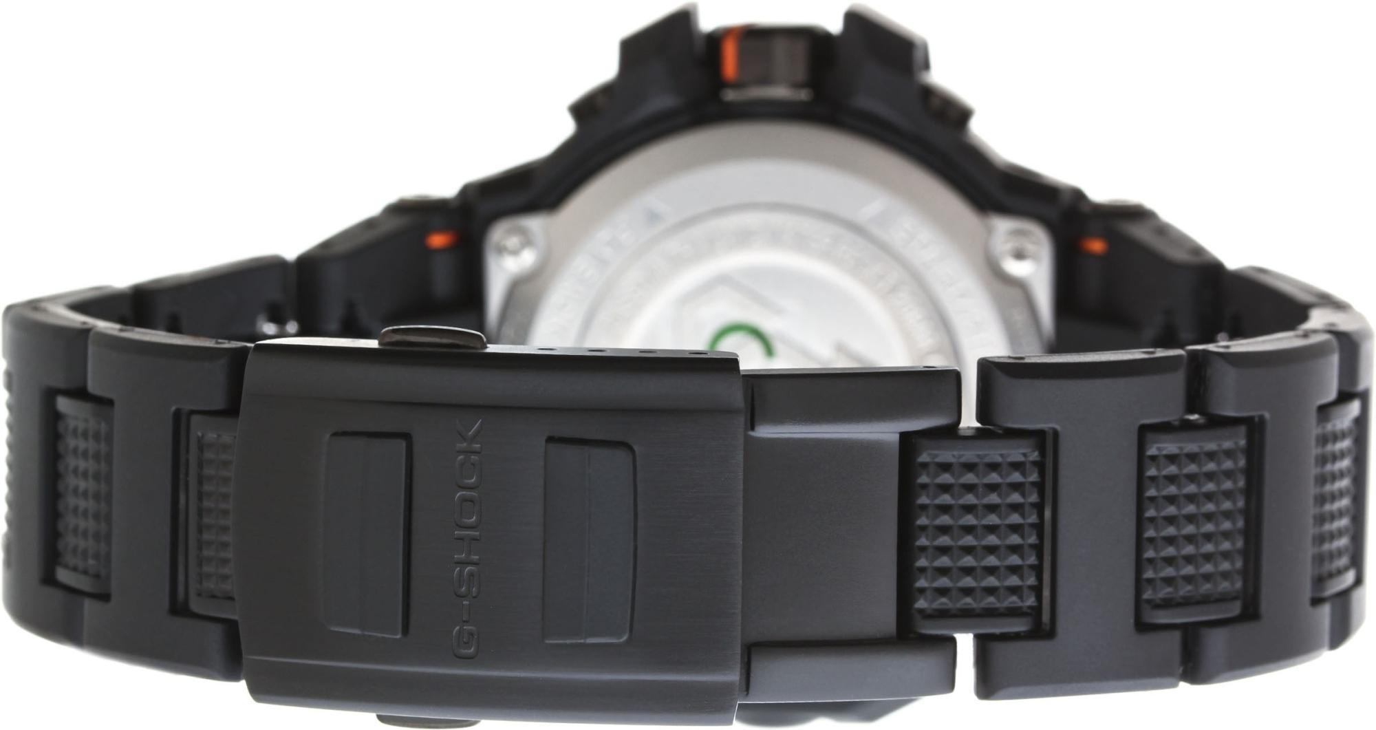 Casio G-shock GW-A1000FC-1A4Наручные часы<br>Японские часы Casio G-shock GW-A1000FC-1A4Представленная модель входит в коллекцию G-shock. Это великолепные мужские часы. Материал корпуса часов &amp;mdash; пластик. В этой модели стоит минеральное стекло. Часы выдерживают давление на глубине 200 м. Основной цвет циферблата черный. Из основных функций на циферблате представлены: часы, минуты, секунды. В данной модели используются следующие усложнения: дата, день недели, сложный календарь, второе поясное время, будильник, . Размер данной модели 48х54мм.<br><br>Пол: Мужские<br>Страна-производитель: None<br>Механизм: Кварцевый<br>Материал корпуса: Пластик<br>Материал ремня/браслета: Пластик<br>Водозащита, диапазон: None<br>Стекло: Минеральное<br>Толщина корпуса: 17<br>Стиль: Классика