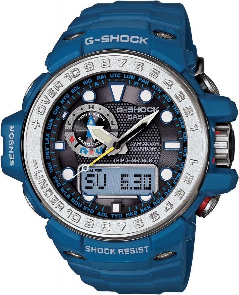 Casio G-shock G-Premium GWN-1000-2AНаручные часы<br>Японские часы Casio G-shock G-Premium GWN-1000-2A<br><br>Пол: Мужские<br>Страна-производитель: Япония<br>Механизм: Кварцевый<br>Материал корпуса: Пластик<br>Материал ремня/браслета: Каучук<br>Водозащита, диапазон: 200 - 800 м<br>Стекло: Минеральное<br>Толщина корпуса: None<br>Стиль: Спорт