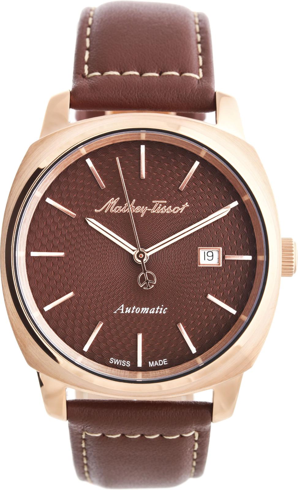 Mathey-Tissot Smart H6940ATPMНаручные часы<br>Швейцарские часы Mathey-Tissot Smart H6940ATPM<br><br>Пол: Мужские<br>Страна-производитель: Швейцария<br>Механизм: Кварцевый<br>Материал корпуса: Сталь<br>Материал ремня/браслета: Кожа<br>Водозащита, диапазон: None<br>Стекло: Сапфировое<br>Толщина корпуса: 11 мм<br>Стиль: None
