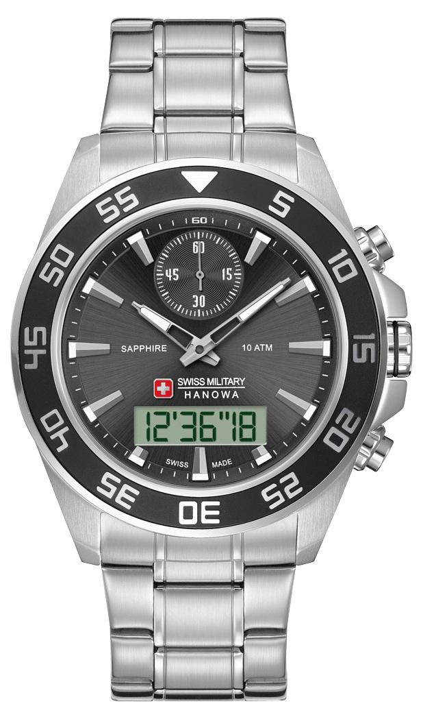 Hanowa Swiss Military Navy Line 06-5222.04.007Наручные часы<br>Швейцарские часы Hanowa Swiss Military Navy Line 06-5222.04.007<br><br>Для кого?: Мужские<br>Страна-производитель: Швейцария<br>Механизм: Кварцевый<br>Материал корпуса: Сталь<br>Материал ремня/браслета: Сталь<br>Водозащита, диапазон: 100 - 150 м<br>Стекло: Сапфировое<br>Толщина корпуса: None<br>Стиль: Классика